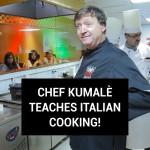 شیف کمالے نے اطالوی کھانے پکانا سِکھائے!