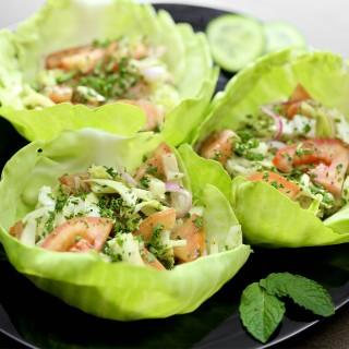 Garden Salad Cups