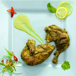 Hara Masala Chicken Roast