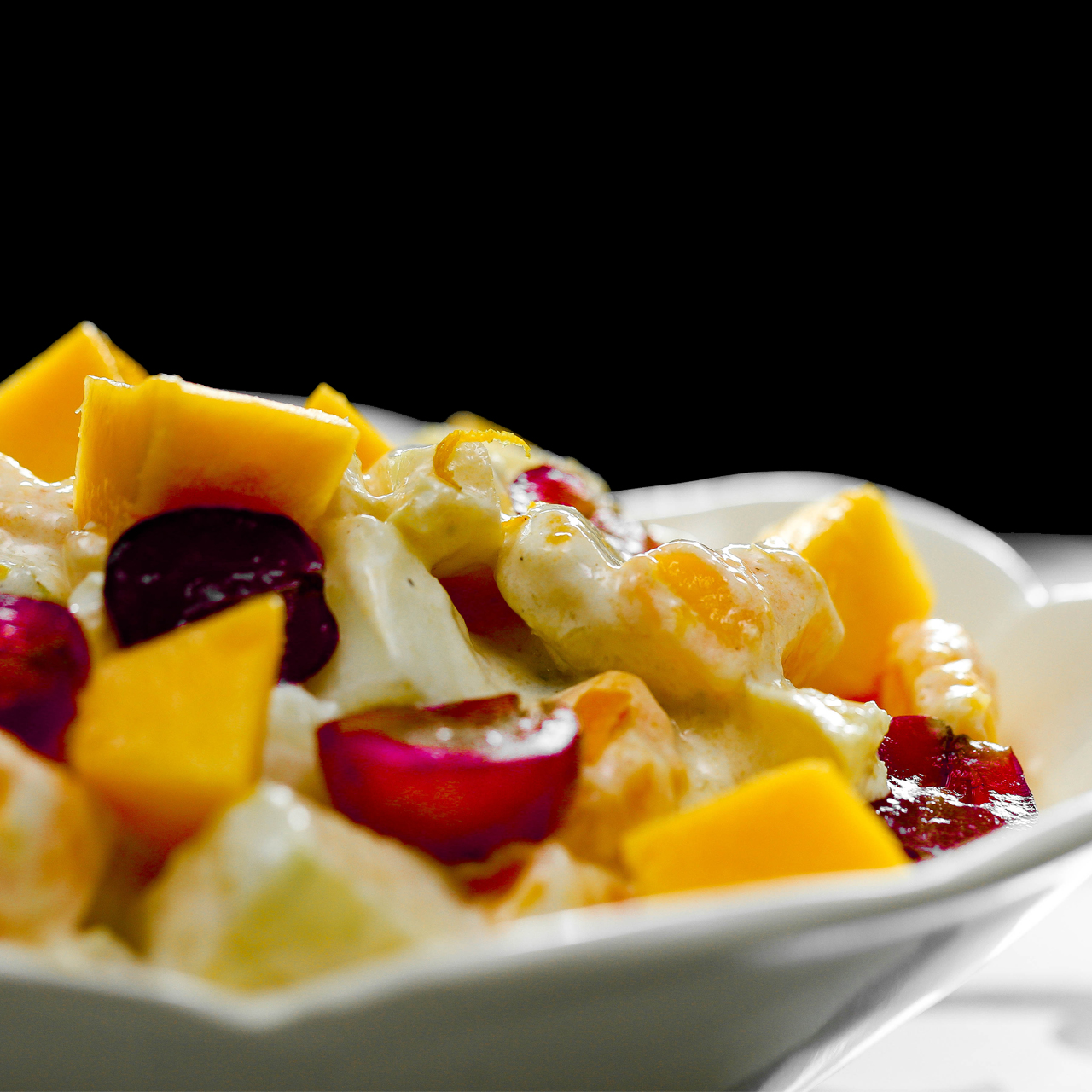 Cream Fruit Chaat