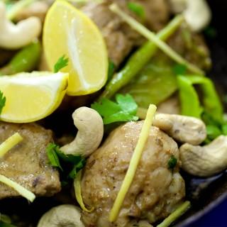 Green Chicken Karhai