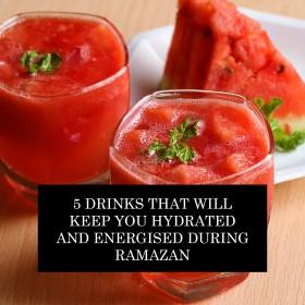 پانچ مشروبات جو آپ کو رمضان کے دوران توانا اور سیراب رکھیں گے