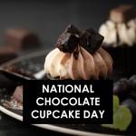 نیشنل چاکلیٹ کپ کیک ڈے:
