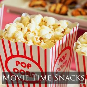 "6 Easy Ways To Make ""Movie-Time"" Snacks"