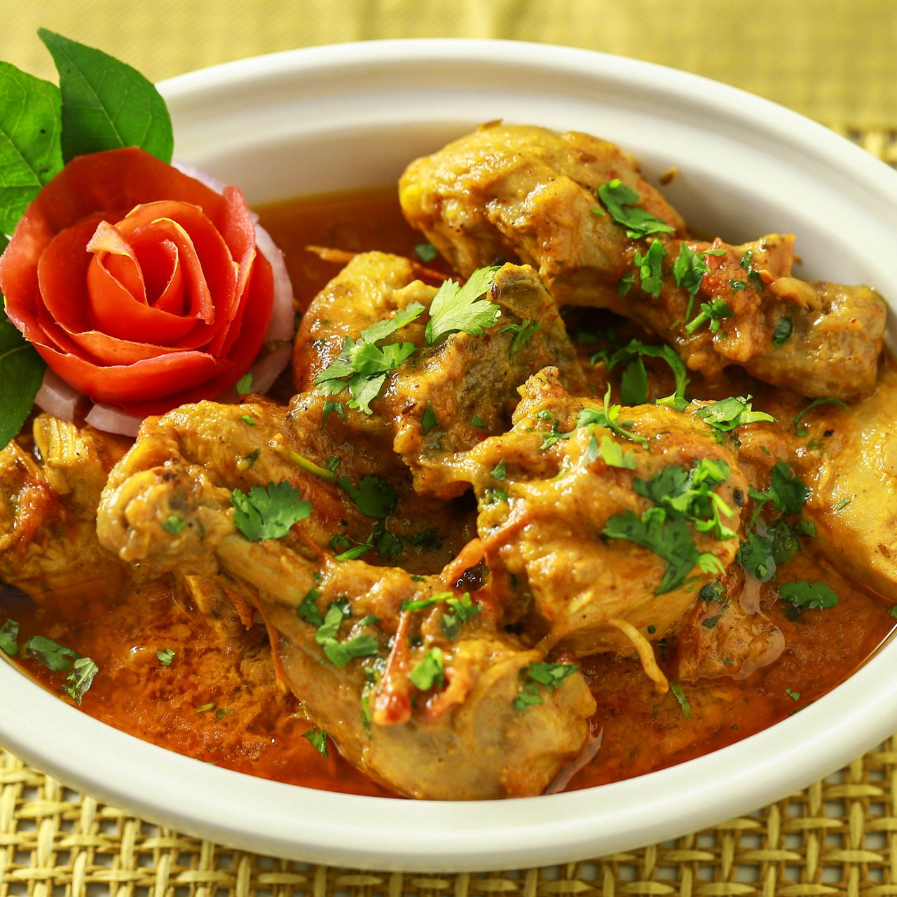 Creamy Chicken Salan
