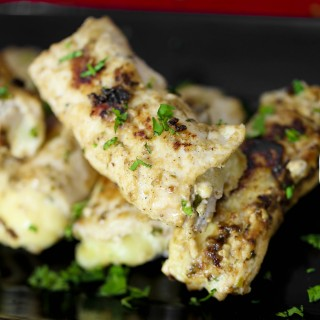 Malai Chicken Cheese Kebab
