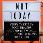Steps Taken By Food Brands Around The World During The Corona Outbreak