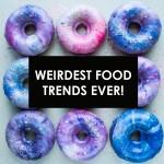 کھانوں کے بارے میں انتہائی عجیب وغریب رجحانات: