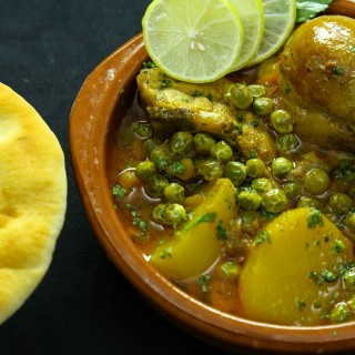 Matar Chicken Shorba