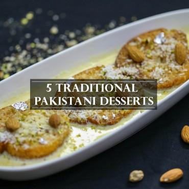 پاکستانیوں کے 5 پسندیدہ روایتی میٹھے پکوان