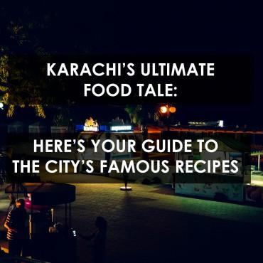 Karachi Food Tales