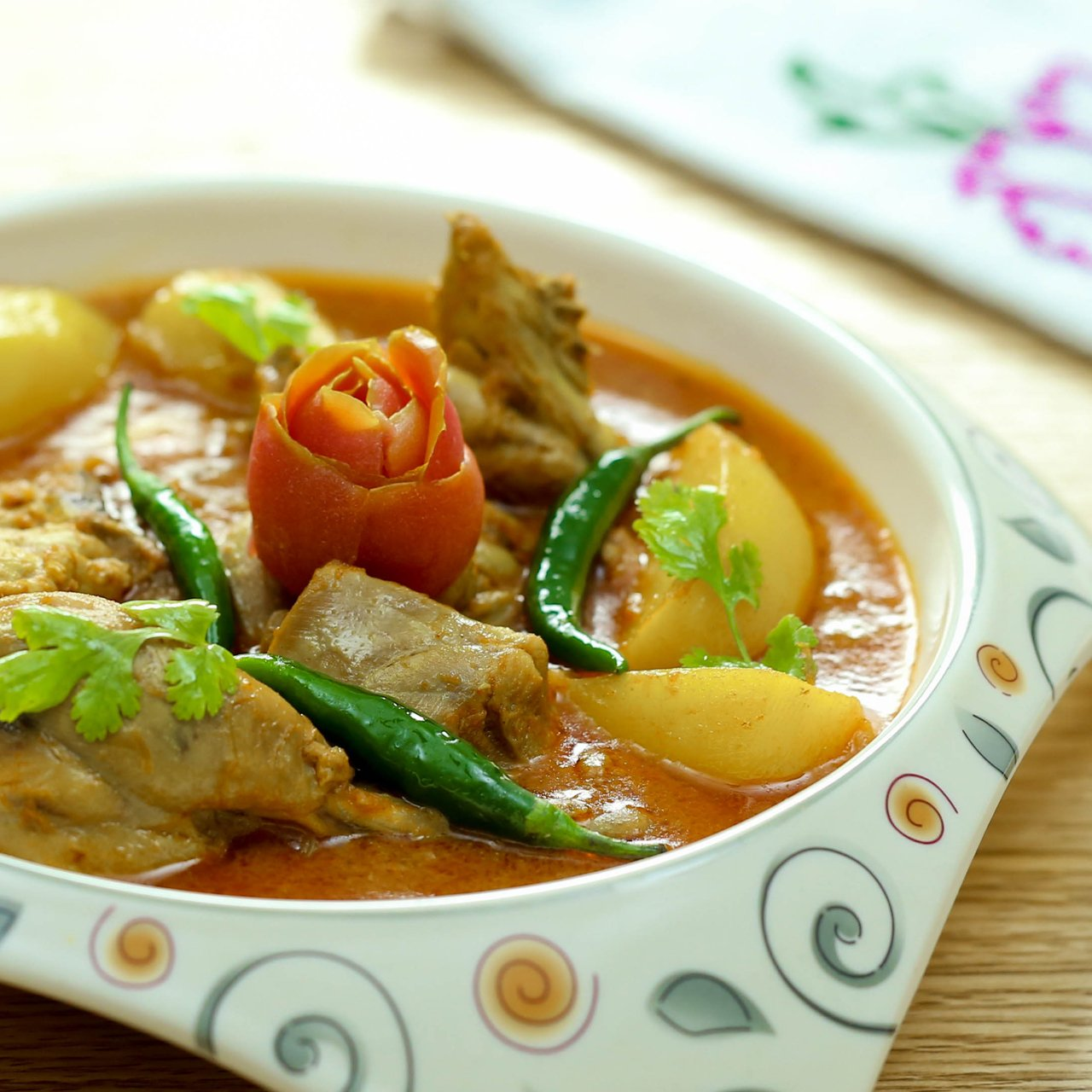 Chicken Aloo Salan