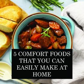پانچ فرحت انگیز کھانے جو آپ با آسانی گھر پر بنا سکتے ہیں