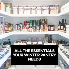 All The Essentials Your Winter Pantry Needs