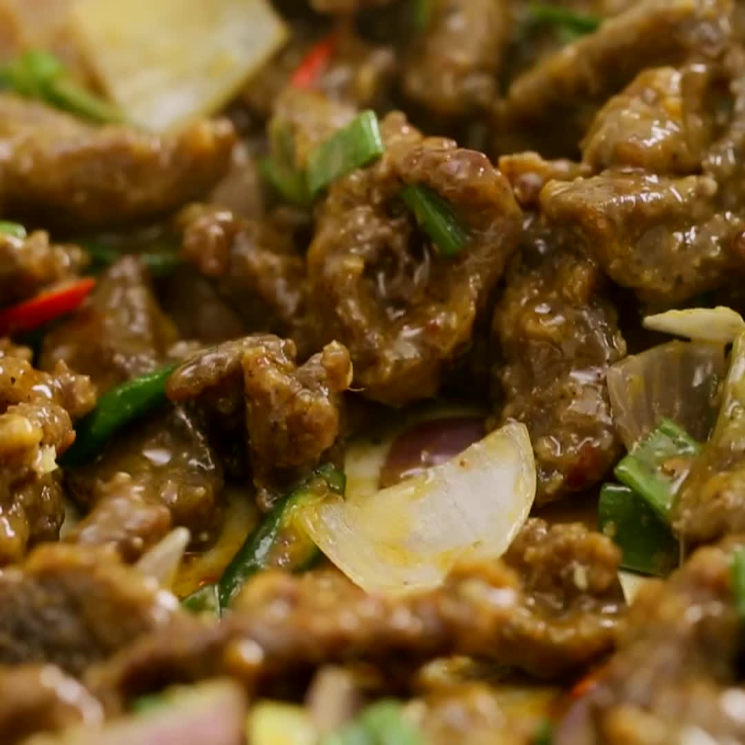 Beef Chilli Dry Recipe Lunch Dinner Food Tribune